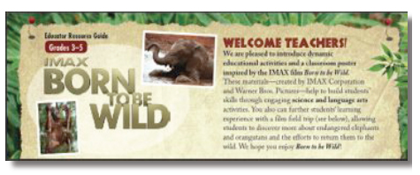 Born to be wild educational guide