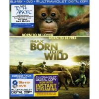 "IMAX ""Born to be Wild"" DVD or Blu-Ray/DVD combo"