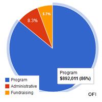 pie chart OFI 2011