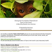 orangutan-enewsletter-archive