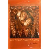 """Baby Orangutans"" poster"