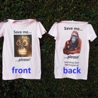 """Save Me"" T-Shirt, Pink *NEW*"