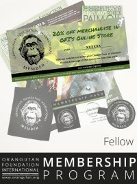 Orangutan Foundation International Fellow Member Membership Program