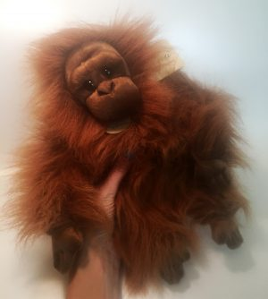 Plush orangutan stuffed animal toy Orangutan Foundation International