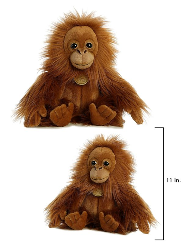 Miyoni plush orangutan tot Orangutan Foundation International