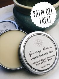 Palm oil free treatment balm Unearth Malee Orangutan Foundation International