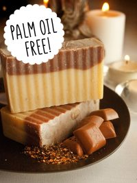 Palm oil free soap Unearth Malee Orangutan Foundation International say no to palm oil