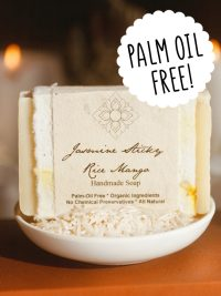 Unearth Malee palm oil free soap jasmine sticky rice mango