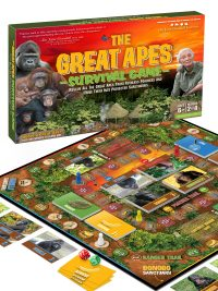 Great Apes Survival Game Jane Goodall Birute Galdikas