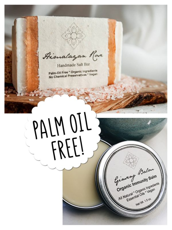 Palm oil free soap and tumeric treatment balm ginseng immunity boost balm Unearth Malee Orangutan Foundation International