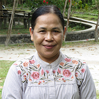 Employee spotlight Ibu Waliyati Orangutan Foundation International wildlife orangutan rescue conservation