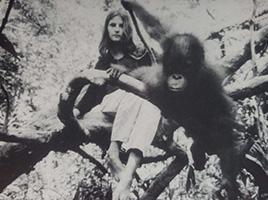 Biruté digging 1967