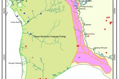 Hotspots near Tanjung Puting September 2013